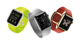 Apple Watch 3 colours